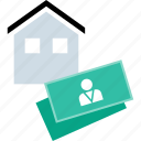 home, realestate, realtor, value icon