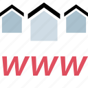 home, house, web, www icon