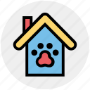 animal, apartment, dog house, home, house, property, real estate