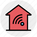 apartment, connection, home, house, property, real estate, signals
