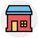 apartment, home, house, property, real, real estate, sweet home icon