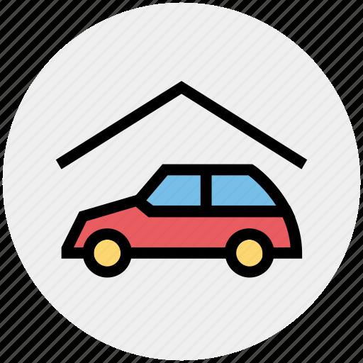 Car, car wash, garage, house, real estate, service, vehicle icon - Download on Iconfinder