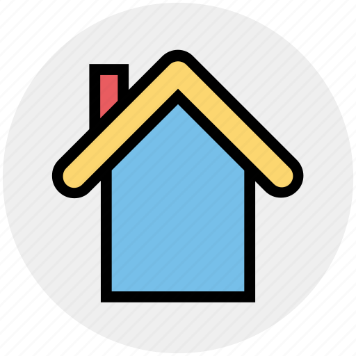 Apartment, home, house, property, real, real estate, roof icon - Download on Iconfinder