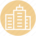 building, buildings, corporation, hotel, office, real estate, skyscraper icon