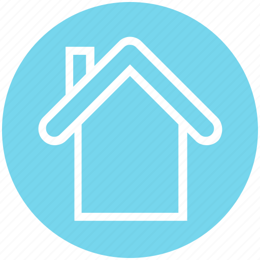 apartment, home, house, property, real, real estate, roof icon