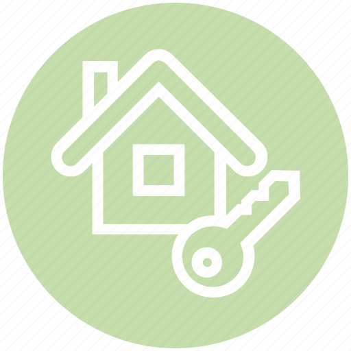 Apartment, home, house, house key, key, property, real estate icon - Download on Iconfinder