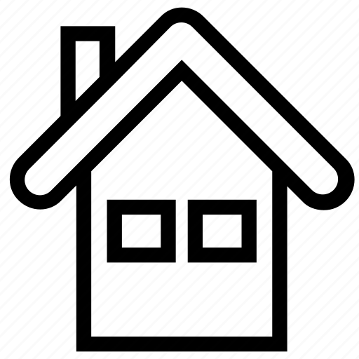 apartment, home, house, house window, property, real estate, window icon