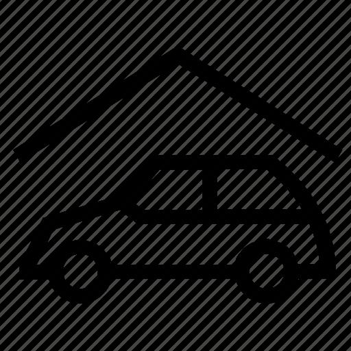 car, car wash, garage, house, real estate, service, vehicle icon