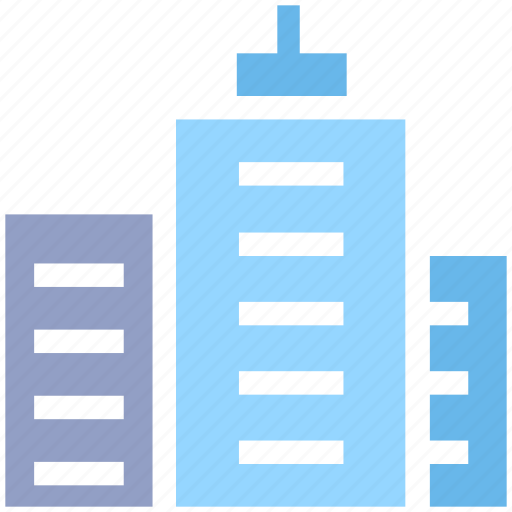 building, buildings, corporation, hotel, office, real estate, skyscraper icon