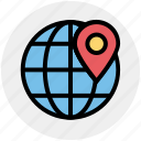 earth, global, globe, localization, map location, map pin, world location