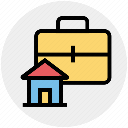Bag, buy, ecommerce, hand bag, home, house, shopping icon - Download on Iconfinder