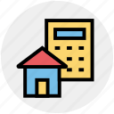 architecture, building, calculator, estate, home, property analyzing, real