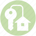 apartment, home, house, house key, key, real, real estate