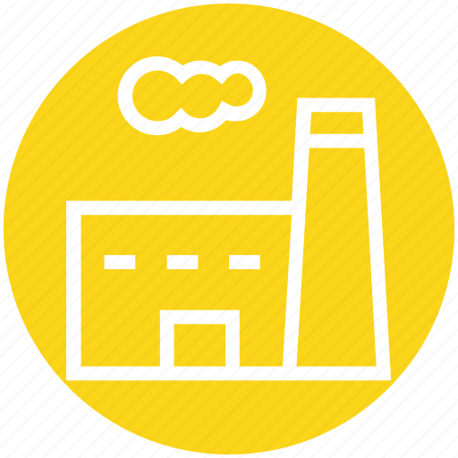 building, company, factory, industrial, industry, plant, real estate icon