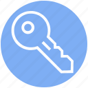 access, key, lock, password, private, protection, secure icon