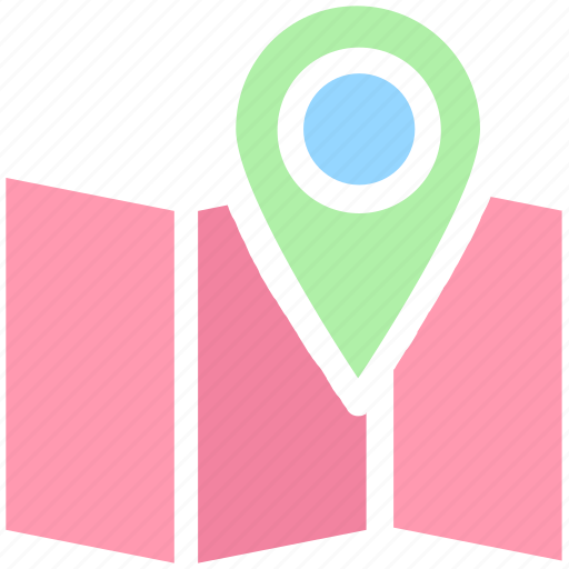 Address, google map, location, map, map pin, maps, street icon - Download on Iconfinder