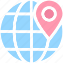 map pin, localization, globe, global, map location, world location, earth