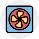 blower, conditioner, electric ventilator, fan, turbine, ventilator cooler, ventilator fan icon