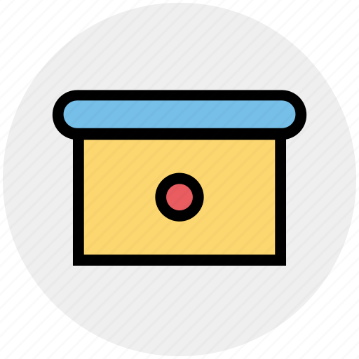 cabinet, directory, document, drawer, furniture, office, storage icon