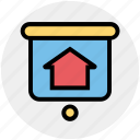 board, home, house, house board, house direction, property, real estate icon