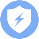 antivirus, firewall, protection, security, shield, thunder, virus