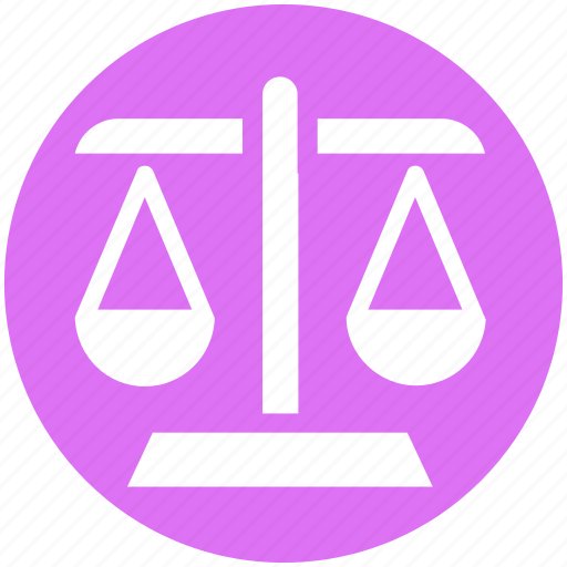Balance, justice scale, law, measure, scale, weight, weight balance icon - Download on Iconfinder