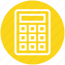 banking, calculate, calculation, calculator, efficiency, mathematics, productivity icon