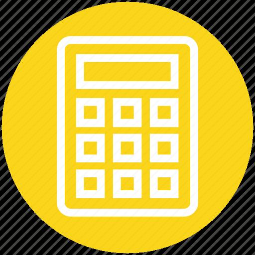 banking, calculate, calculation, calculator, efficiency, mathematics, productivity icon