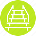 descend, floor, interior, level, stage, staircase, stairs icon