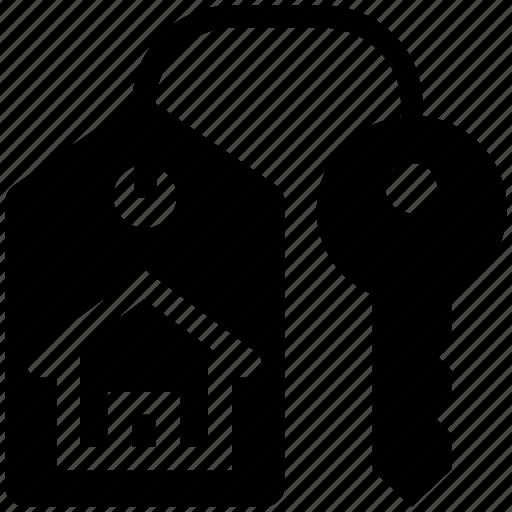apartment, home, house, house key, key, lock, real estate icon