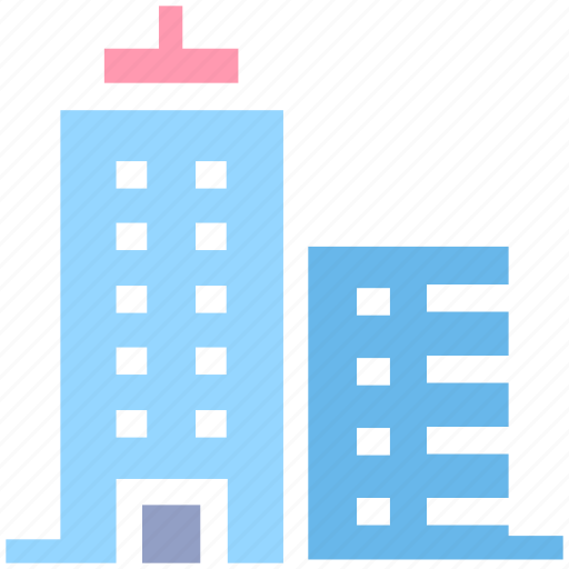 apartment, architect, architecture, building, office, real estate, skyscraper icon