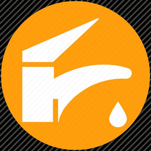 pipe, pipeline, plumbing, spigot, washing, water, water nal icon