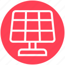 cell panel, energy, power, solar, solar energy, solar energy panel, technology icon