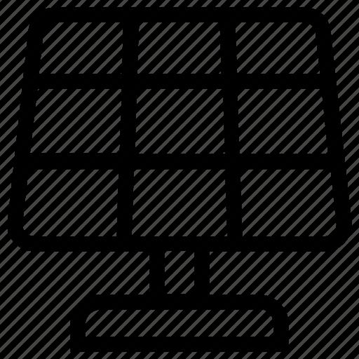 cell panel, energy, power, solar, solar energy, solar energy panel, technology icon
