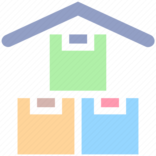 containing, crate, packing, parcel, stock, warehouse icon