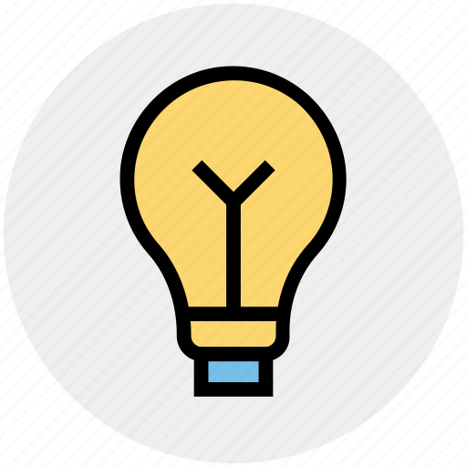 bright, bulb, creative, idea, lamp, light, light bulb icon