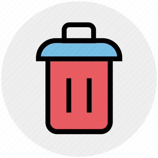 Bin, dustbin, garbage, garbage can, recycle, trash, trash can icon - Download on Iconfinder
