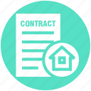 contract, document, home, house, house paper, property paper, real estate
