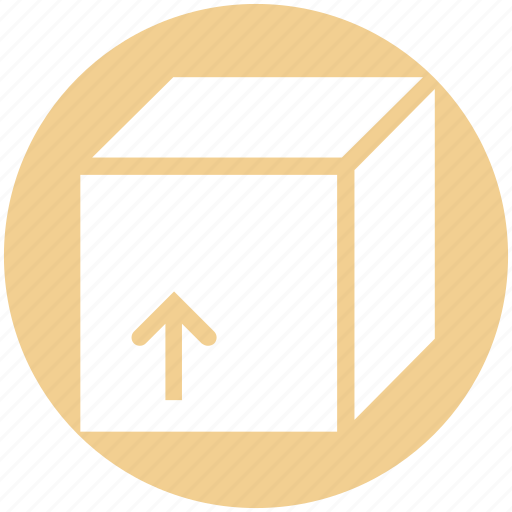 box, cube, delivery, delivery box, package, parcel, shipping icon