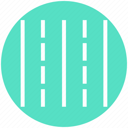double road, highway, motorway, path, road, roads, two way icon