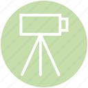 camcorder, camera, movie, recording, shooting, video camera, video recording icon