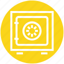 banking, deposit, money, safe, secure, strongbox, vault icon