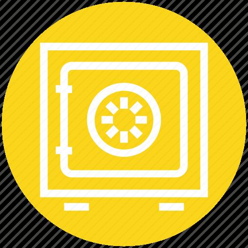 banking, deposit, money, safe, secure, strongbox, vault icon