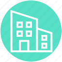 apartment, architect, architecture, building, company, real estate, skyscraper icon