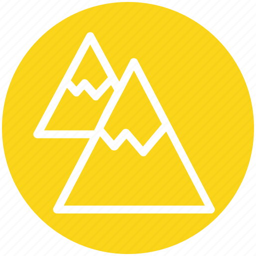 Environment, height, landscape, mountain, mountains, nature, snow icon - Download on Iconfinder