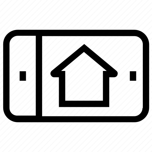 house, house picture, mobile, mobile screen, online house purchase, property, smartphone icon