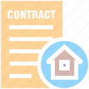 house paper, house, contract, property paper, real estate, home, document