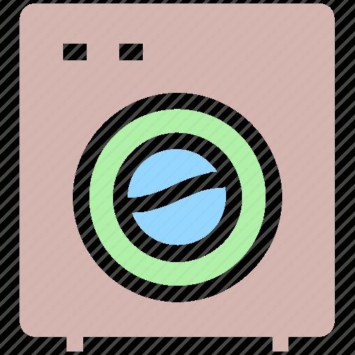 appliance, cleaning, laundry, laundry machine, washer, washing, washing machine icon