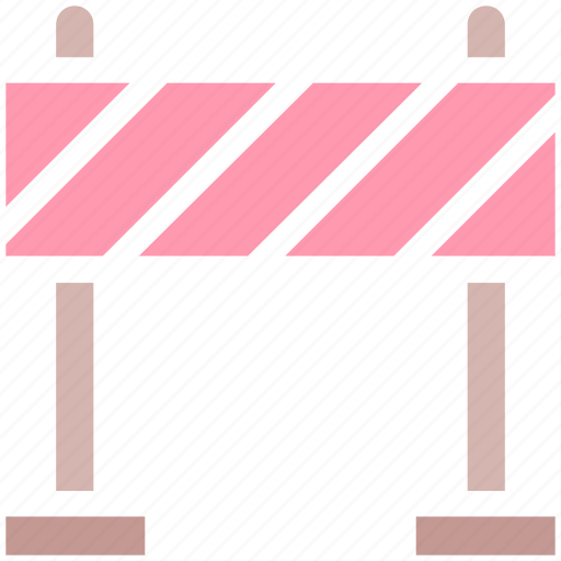 barrier, block, construction, forbidden, road barrier, road stop, traffic barrier icon