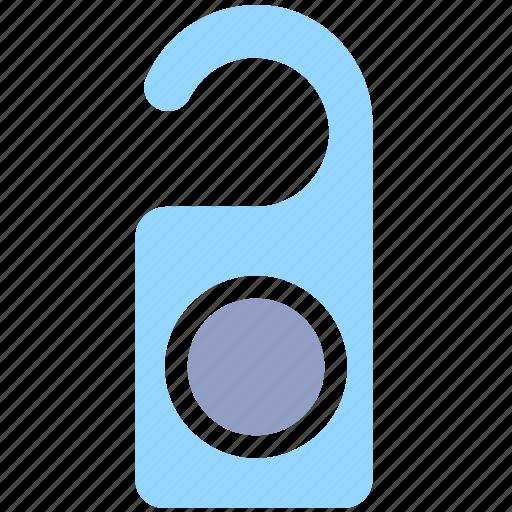 disturb, door hanger, hanger, hotel, privacy, room, tag icon